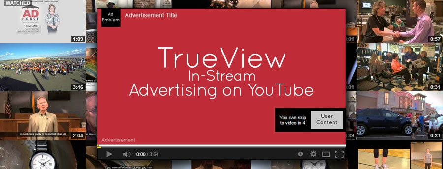 TrueView Pre-Roll Advertising on YouTube