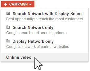 Create a video campaign for AdWords for video