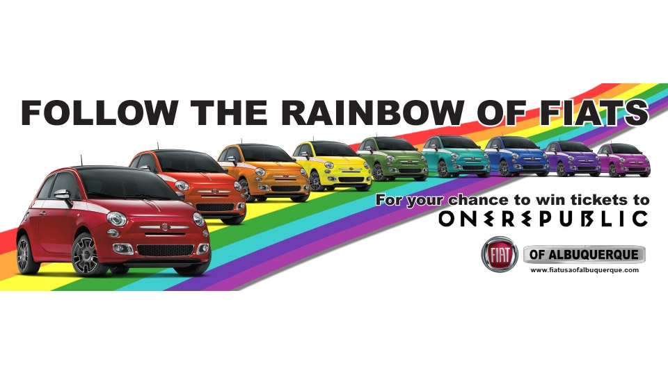 Fiat Banners for ABQ Pridefest