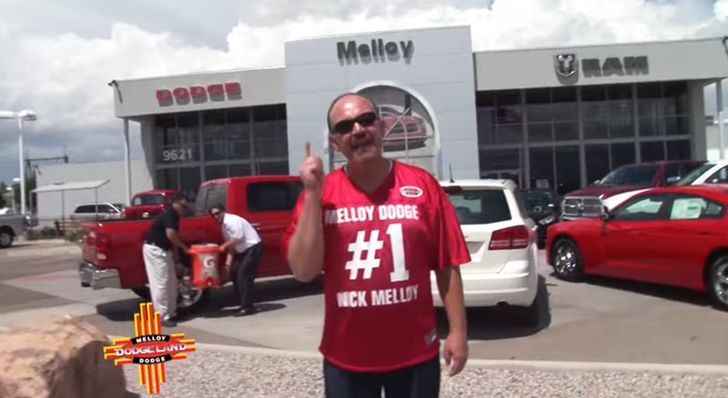 "Melloy Dodge ""RAM's Football"""