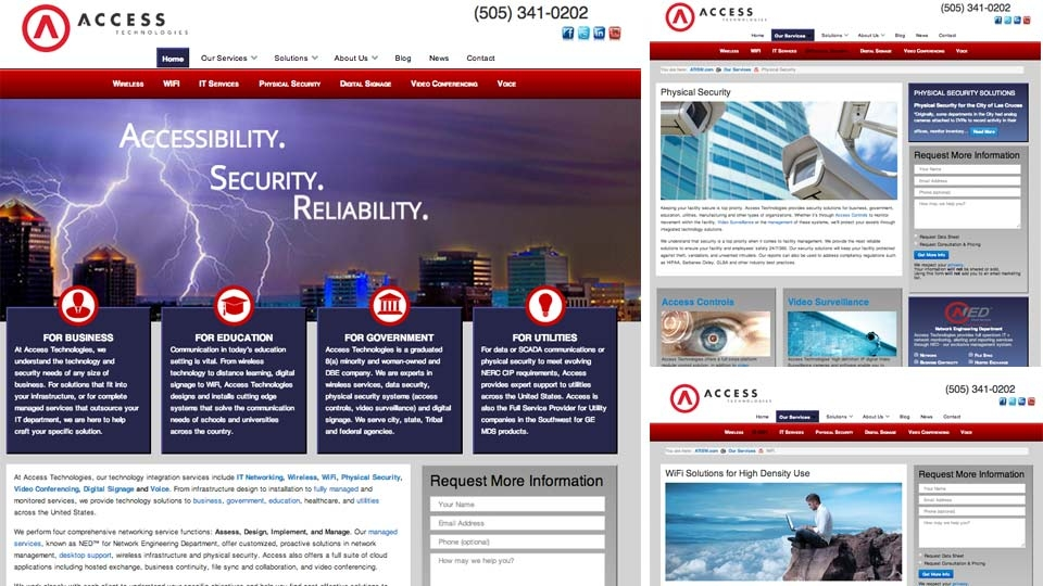 Ad House Advertising and Access Technologies Launch New Website!