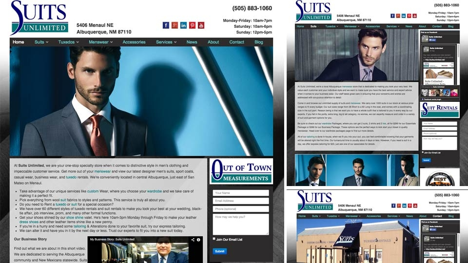 Ad House Launches New Suits Unlimited Website!