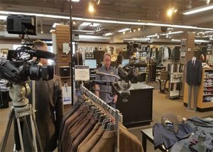 Image showing team shooting in retail store