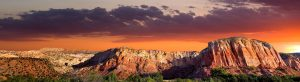 image of new mexico landscape at sunset