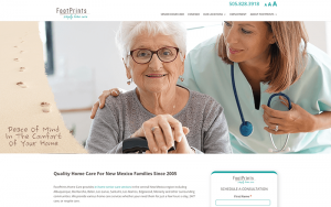 Footprints home care after image